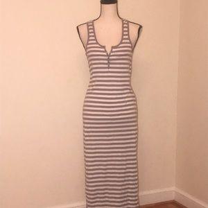 Striped Cotton Maxi Dress.  Xhilaration. Small